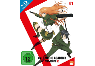Anti-Magic Academy - Test-Trupp 35 - Volume 1 - Episode 1-4 [Blu-ray]