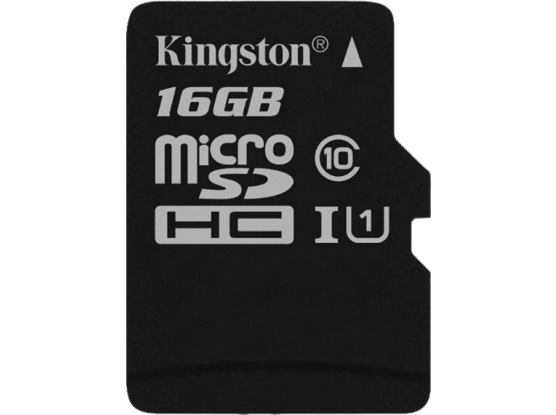 KINGSTON microSDHC 16GB Canvas Select Card and SD Adapter laptop  tablet  computing  tablet   ipad κάρτες μνήμης hobby   φωτογραφία φωτογρ