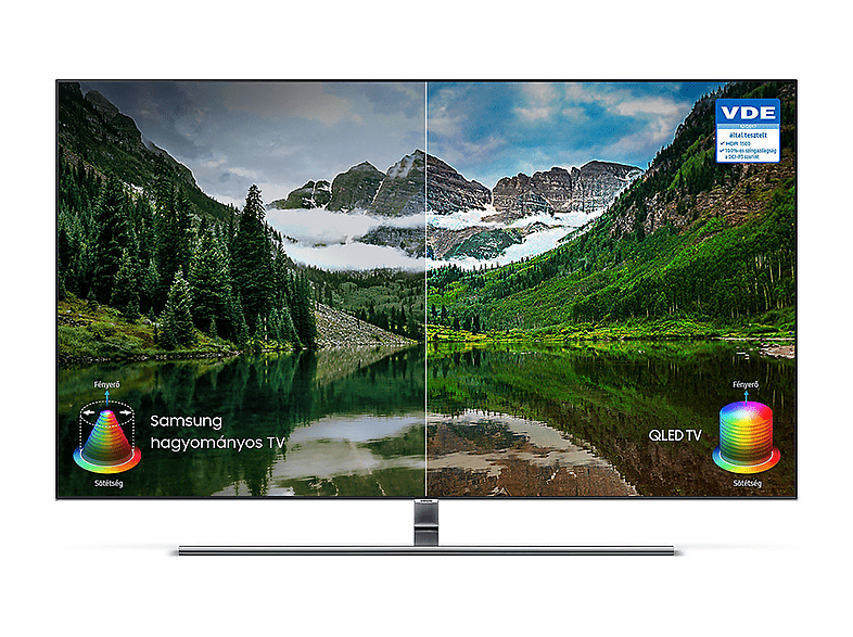 SAMSUNG QE 65 Q7FNATXXH 4K UHD Smart QLED televízió