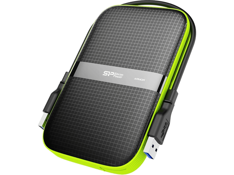SILICON-POWER Armor A60 1TB – Shock Proof, Water Resistant (IPX4) laptop  tablet  computing  αποθήκευση δεδομένων δίσκοι εξωτερικοί 2 5