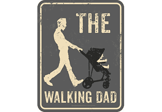 The Walking Dad Blechschild