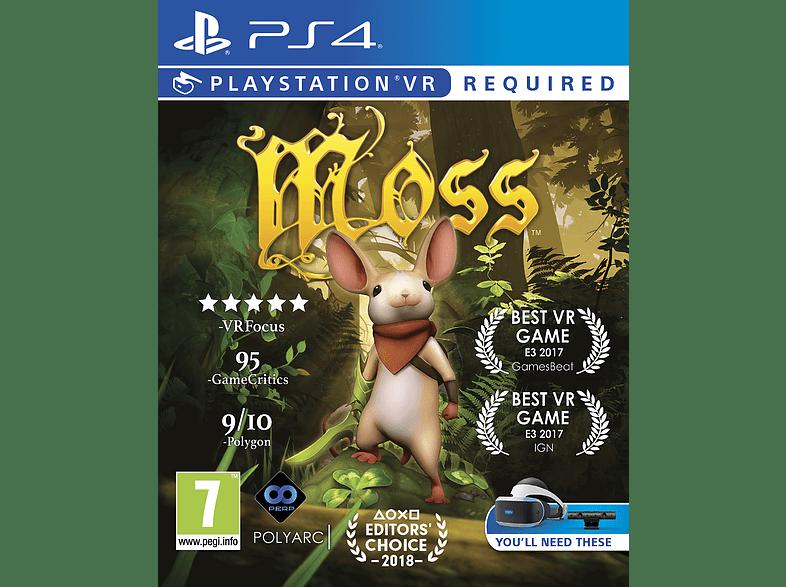 Moss VR PlayStation 4 gaming games ps4 games