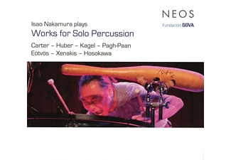 Isao Nakamura - Works For Solo Percussion [CD]