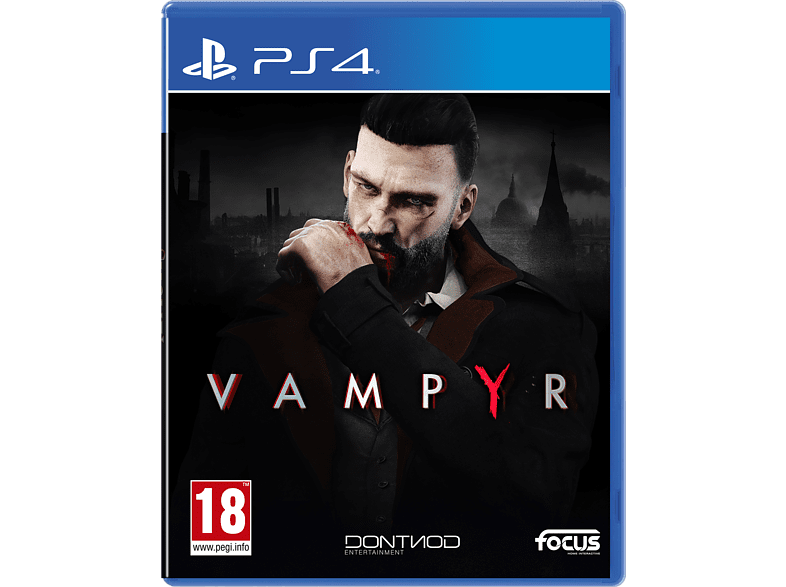 Vampyr PlayStation 4 gaming games ps4 games