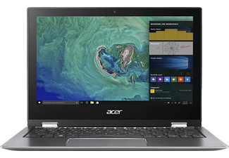 ACER Spin 1 (SP111-32N-P33G), Convertible mit 11.6 Zoll Display, Pentium® Prozessor, 4 GB RAM, 64 GB eMMC, Intel® HD-Grafik 505, Steel Gray