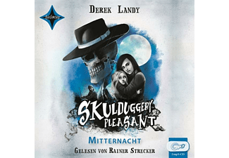 Derek Landy - Skulduggery Pleasant-Mitternacht - (MP3-CD)