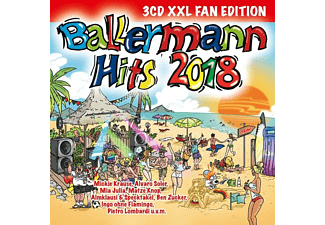 VARIOUS - Ballermann Hits 2018 (XXL Fan Edition) [CD]