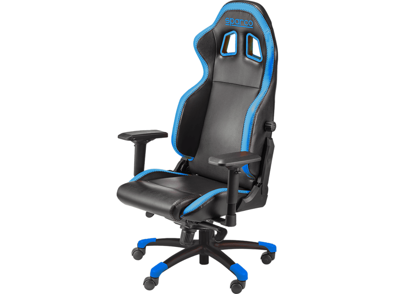 SPARCO Gaming Chair Grip Black/ Blue gaming απογείωσε την gaming εμπειρία gaming chairs