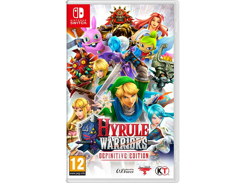 NSW HYRULE WARRIORSDEFINITIVE EDITION Nintendo Switch gaming games switch games