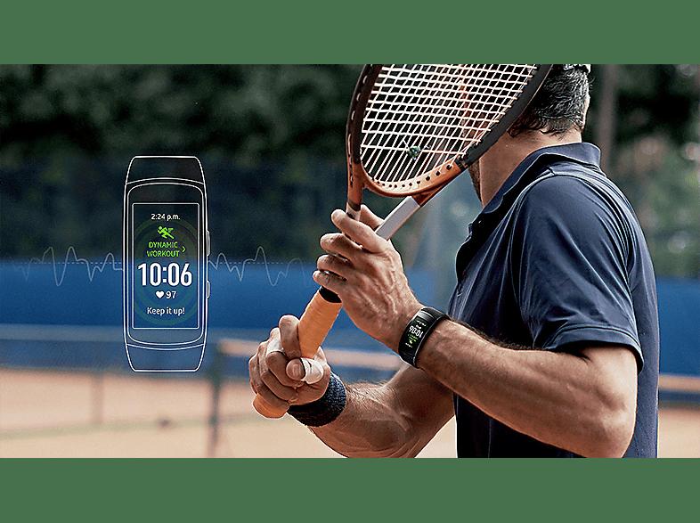 SAMSUNG Gear Fit 2 pro fekete fitnesz óra, Small (SM-R365NZKN)