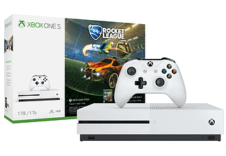 MICROSOFT Xbox One S 1 TB + Rocket League (inkl 3 mån Xbox Live Gold)
