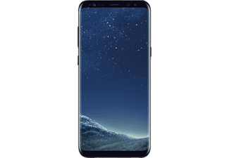 samsung galaxy s8 smartphone 64 gb midnight black. Black Bedroom Furniture Sets. Home Design Ideas