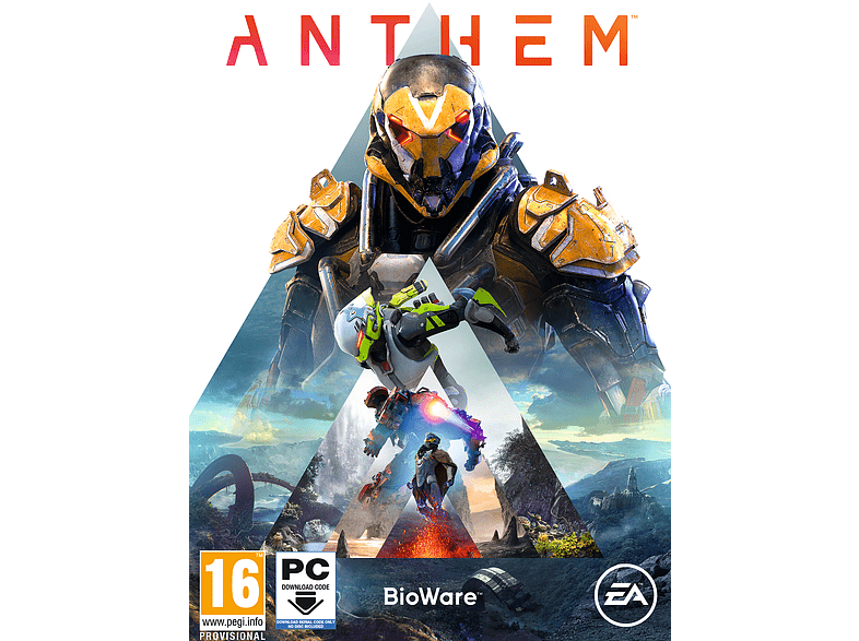 Anthem PC gaming games pc games