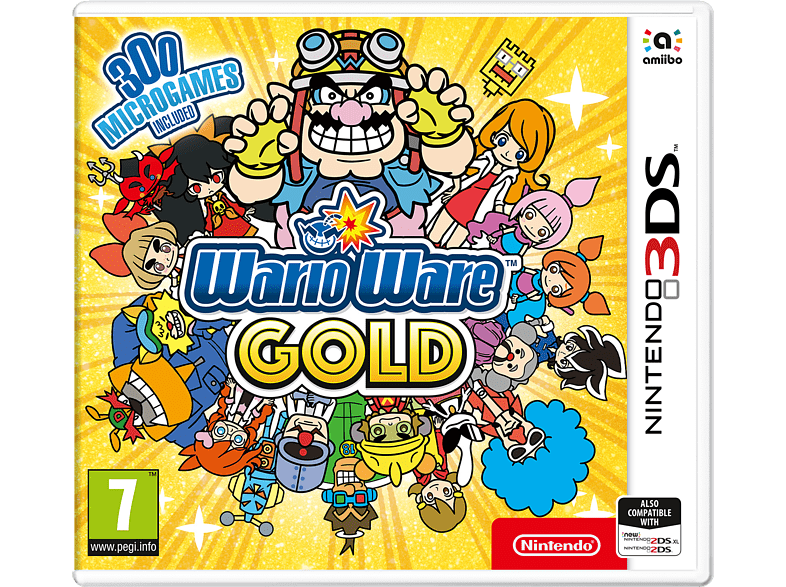 Warrioware Gold Nintendo 3DS gaming games