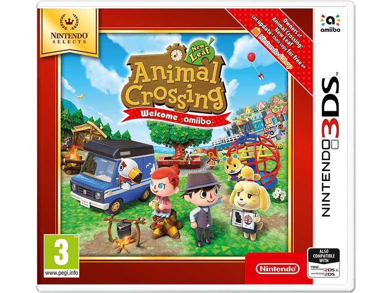 Animal Crossing: New Leaf Selects Nintendo 3DS gaming games