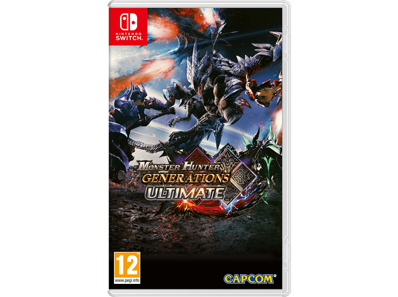 Monster Hunter Generations Ultimate Nintendo Switch gaming games switch games
