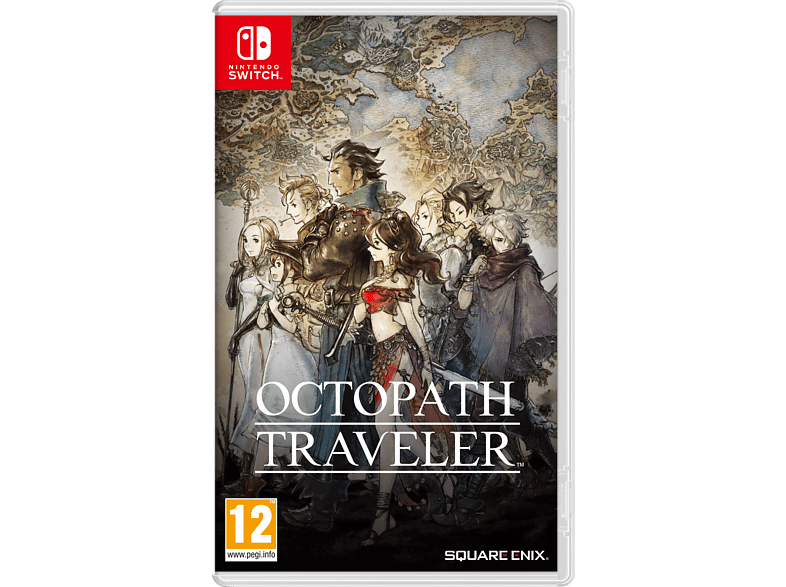 Octopath Traveler Nintendo Switch gaming games switch games