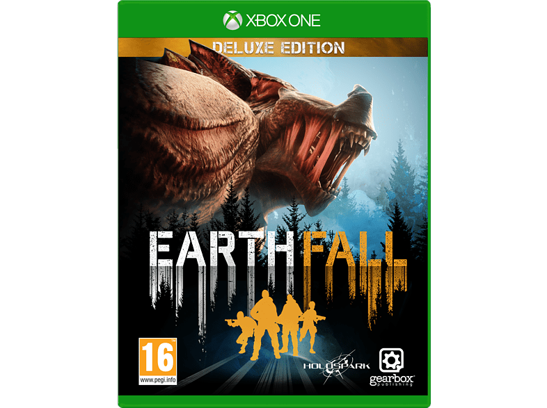 Earth Fall Deluxe Edition Xbox One gaming games xbox one games