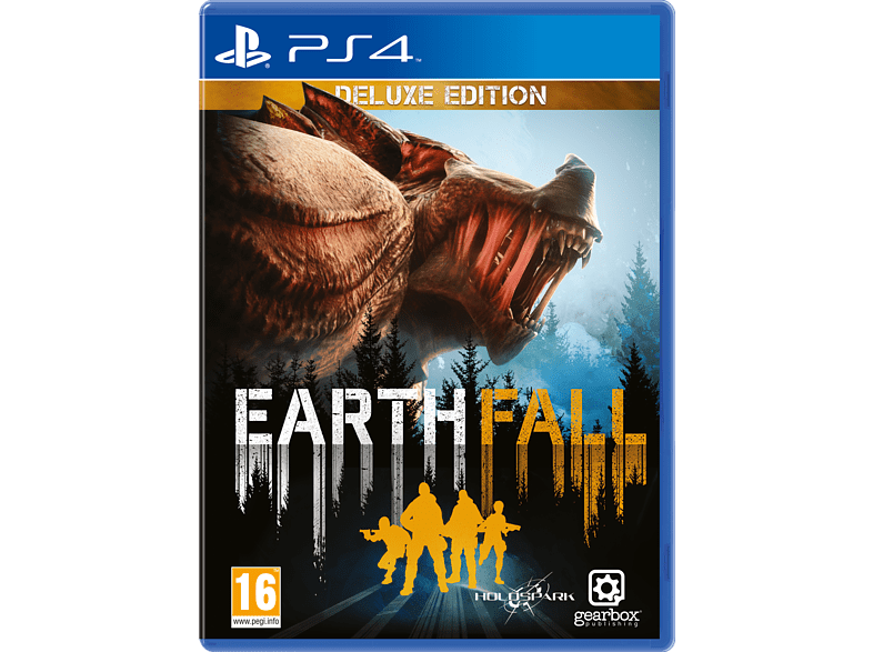 Earth Fall Deluxe Edition PlayStation 4 gaming games ps4 games