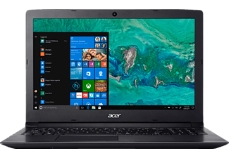 ACER Aspire 3 (A315-53-33P6), Notebook mit 15.6 Zoll Display, Core™ i3 Prozessor, 4 GB RAM, 256 GB SSD, Intel® HD-Grafik 620, Schwarz