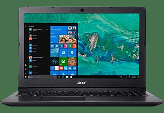 ACER Aspire 3 (A315-53-35FQ), Notebook mit 15.6 Zoll Display, Core™ i3 Prozessor, 4 GB RAM, 1 TB HDD, HD-Grafik 620, Schwarz