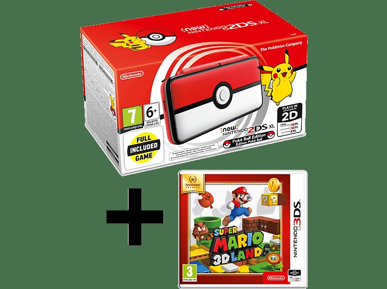 NINTENDO 2DS XL Pokeball Edition and Mario 3D Land gaming φορητές κονσόλες κονσόλες 2ds  3ds gaming κονσόλες κονσόλες nintendo