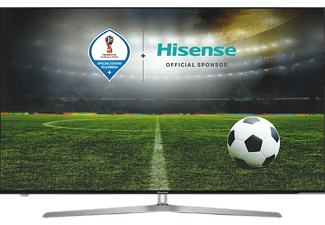 HISENSE H65U7A, 163 cm (65 Zoll), UHD 4K, SMART TV, ULED TV, 2400 PCI, DVB-T2 HD, DVB-C, DVB-C2, DVB-S, DVB-S2