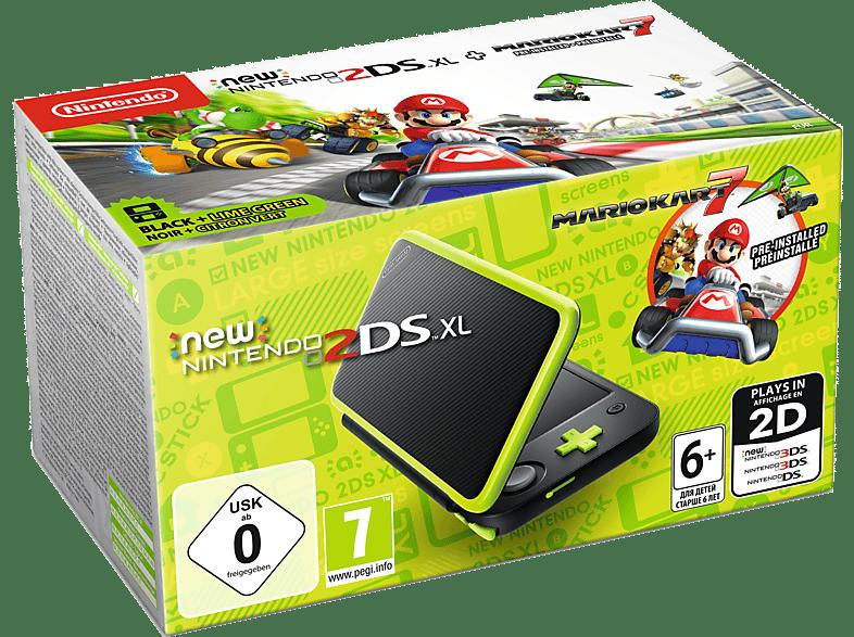 NINTENDO 2DS New XL Black and Lime Green μαζί με το Mario Kart (DLC) gaming φορητές κονσόλες κονσόλες 2ds  3ds gaming κονσόλες κονσόλες nintendo