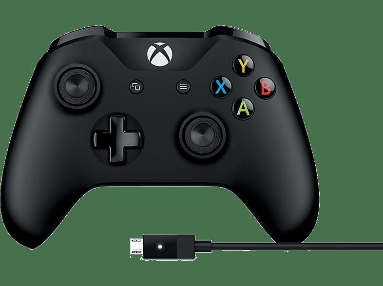 MICROSOFT Xbox One Controller μαζί με καλώδιο για Windows (4N6-02) gaming απογείωσε την gaming εμπειρία αξεσουάρ xbox one