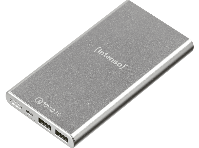 INTENSO Mobile Powerbank Q10000 Silver smartphones   smartliving powerbanks