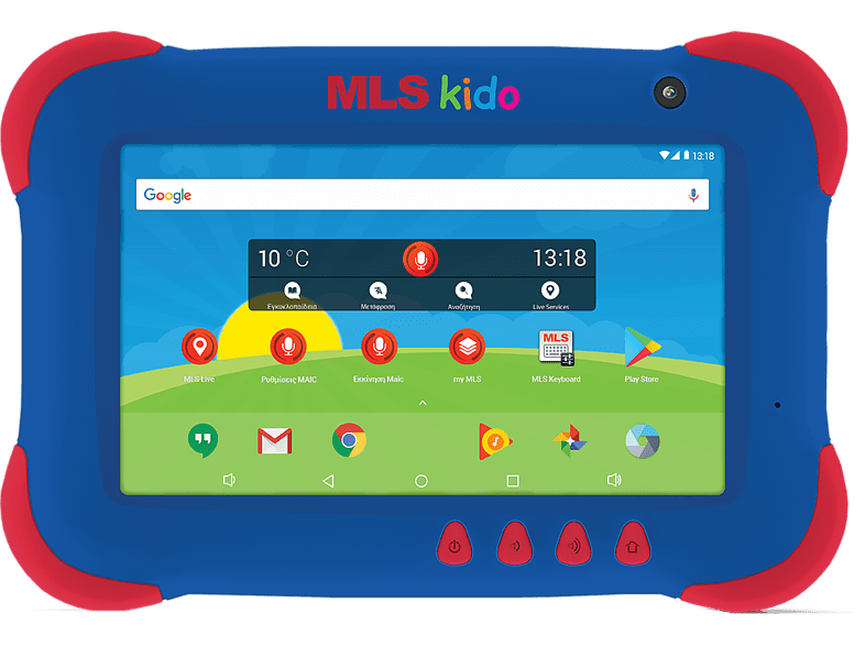 "MLS Kido 2018 Tablet 7"" 4core 8GB WiFi - Blue laptop  tablet  computing  tablet   ipad android tablet"