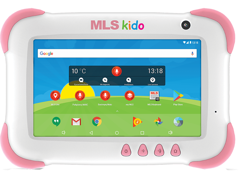 "MLS Kido 2018 Tablet 7"" 4core 8GB WiFi - Pink laptop  tablet  computing  tablet   ipad android tablet"