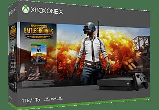 MICROSOFT Xbox One X 1TB - Playerunknowns Battlegrounds Bundle