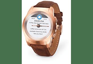 MyKronoz ZeTime hybrid smartwatch premium 44mm goud-roze