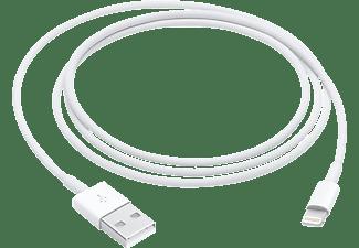 Apple MQUE2ZM 1m USB-A Lightning Wit mobiele telefoonkabel