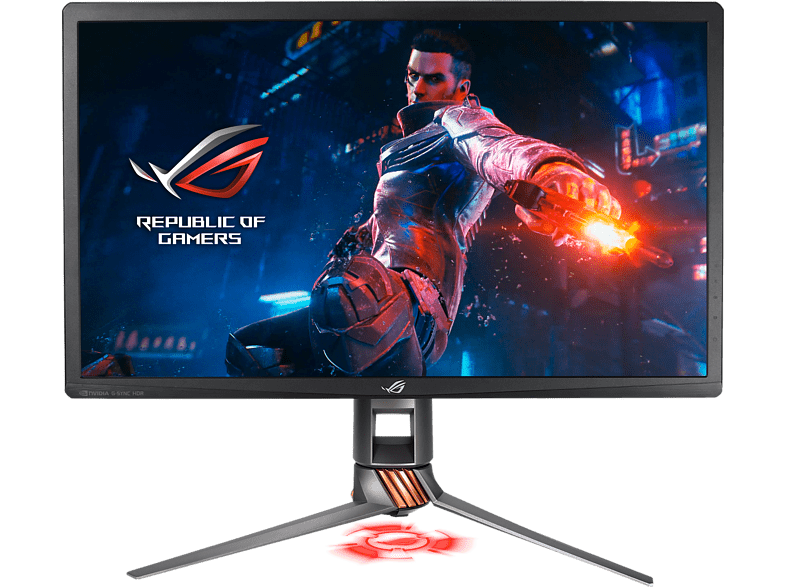 ASUS ROG Swift PG27UQ Gaming Monitor - 27inch 4K Ultra HD, 144Hz, G-SYNC, Quantu laptop  tablet  computing  οθόνες