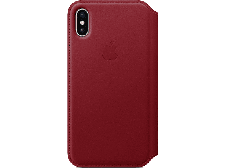APPLE Θήκη iPhone X Leather Red smartphones   smartliving iphone θήκες iphone smartphones   smartliving αξεσουάρ