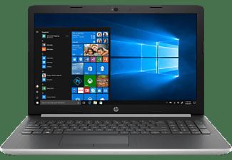 HP 15-da0347ng, Notebook mit 15.6 Zoll Display, Core™ i5 Prozessor, 8 GB RAM, 1 TB HDD, 128 GB SSD, Intel® UHD-Grafik 620, Silber