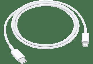 Apple MQGJ2ZM 1m USB-C Lightning Wit mobiele telefoonkabel