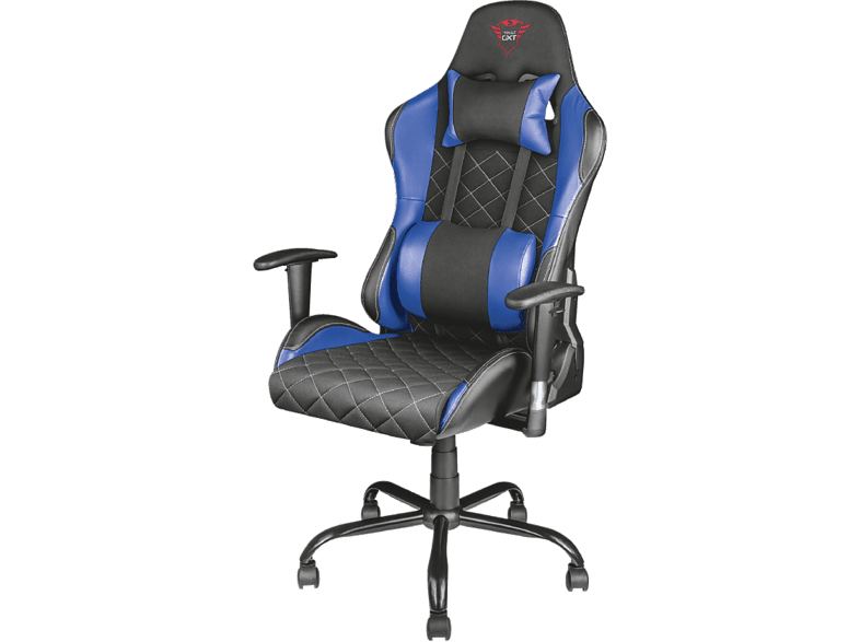 TRUST GXT 707R Resto Gaming Chair - blue gaming απογείωσε την gaming εμπειρία gaming chairs
