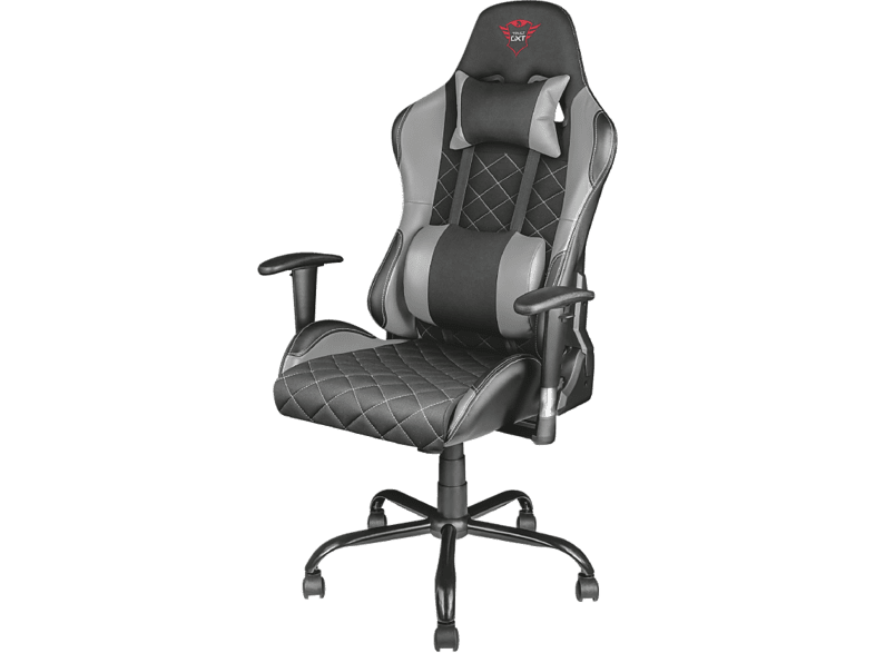 TRUST GXT 707R Resto Gaming Chair - grey gaming απογείωσε την gaming εμπειρία gaming chairs