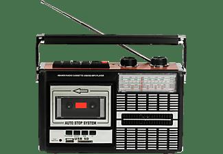 Ricatech PR85 Recorder 80's Radio Cassette USB-SD
