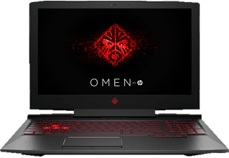 HP OMEN 15-CE036NG, Gaming Notebook mit 15.6 Zoll Display, Core™ i7 Prozessor, 16 GB RAM, 1 TB HDD, 128 GB SSD, GeForce GTX 1060, Schwarz