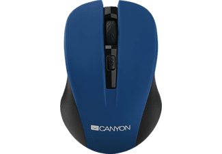 CANYON wireless kék optikai egér