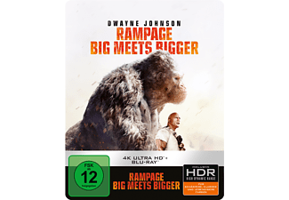 Rampage: Big Meets Bigger (SteelBook®) - (4K Ultra HD Blu-ray)