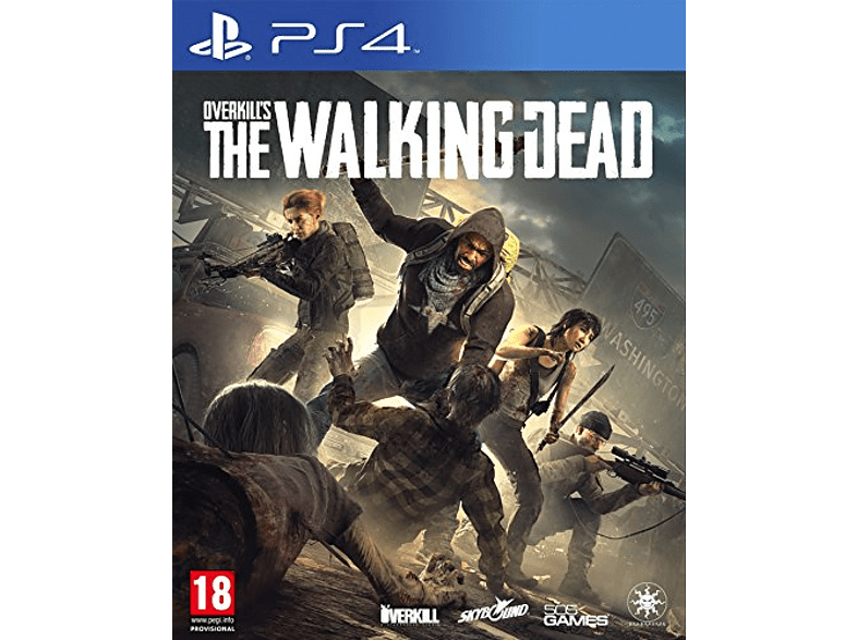 Overkill s The Walking Dead PlayStation 4 gaming games ps4 games