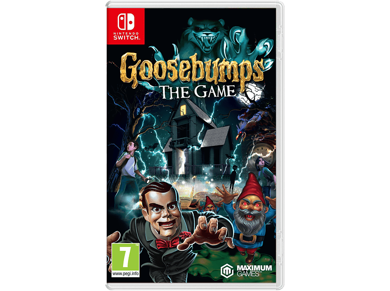 Goosebumps The Game gaming games switch games