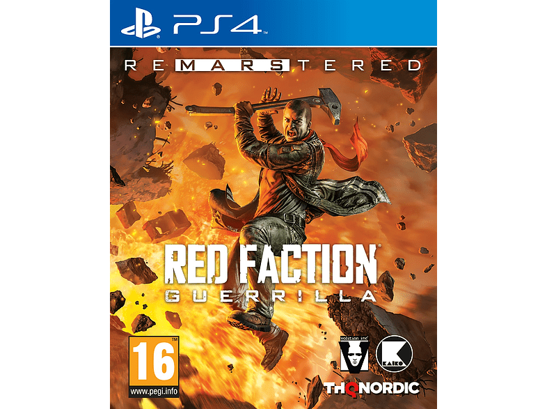 Red Faction Guerilla Re Mars Tered PlayStation 4 gaming games ps4 games