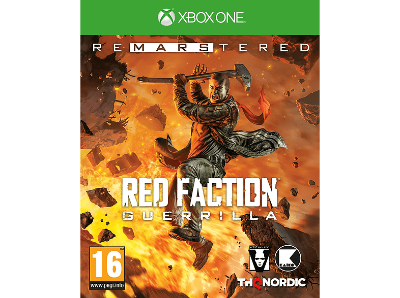 Red Faction Guerilla Re Mars Tered Xbox One gaming games xbox one games