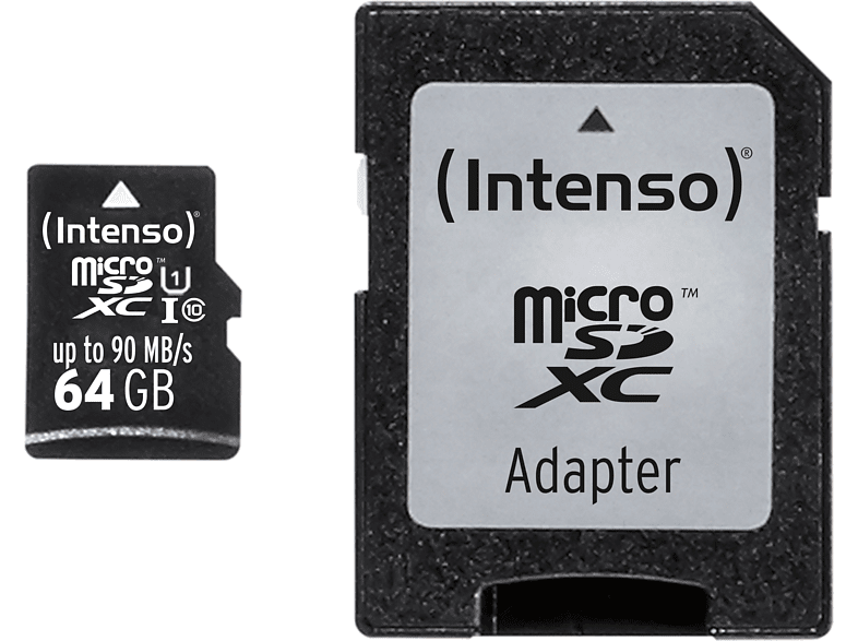 INTENSO microSD Class 10 UHS-I Professional 64 GB smartphones   smartliving αξεσουάρ κινητών κάρτες μνήμης